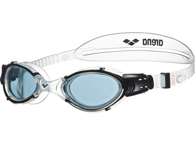 arena Nimesis Crystal Large duikbrillen blauw/transparant